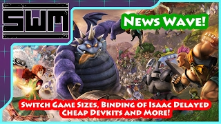 Download News Wave! - Switch Game Sizes, Binding of Isaac Delayed, Cheap Devkits and More! Video