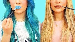 Download DIY MakeUp/Beauty Life Hacks! Niki and Gabi Video