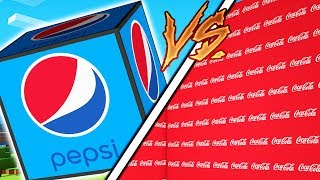 Download HOW TO BECOME THE RICHEST MINECRAFTER - COKE VS PEPSI LUCKY BLOCK MONEY HUNT Video