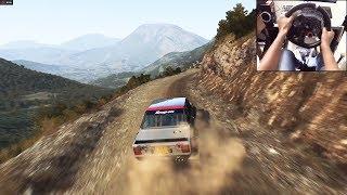Download Fiat 131 Abarth Dirt Rally (logitech g29) gameplay Video
