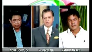 Download Raymart and Mon Tulfo Face Off on TV PATROL Video