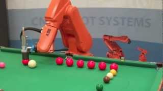 Download ABB Robot Playing Snooker Video