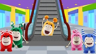 Download Oddbods Crying in Electronic Escalator Stairs - Oddbods Funny Pranks Full Compilation Video