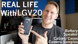 Download LG V20: Real Life Review - Camera Samples, Speaker Comparison, Cases, & More Video