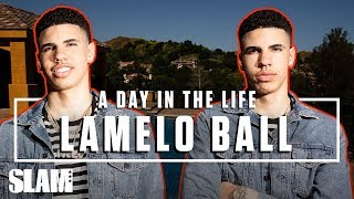 Download LaMelo Ball Is Paving His Own Wave 🌊 LEAGUE HIM | SLAM Day in the Life Video