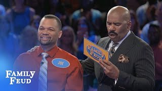 Download Steve's in SHOCK! Don't miss this FAST MONEY! | Family Feud Video