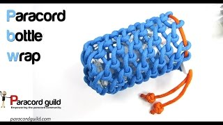 Download Paracord bottle wrap- half hitching Video