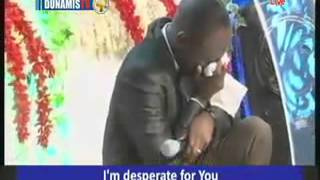 Download Dr Pst Paul Enenche weeps in Worship (with his daughter) Video