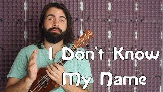 Download I Don't Know My Name - Grace VanderWaal - America's Got Talent - Easy Beginner Song Ukulele Tutorial Video