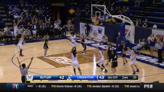 Download Creighton WBB Highlights in BE Win Over Butler - 3-5-17 Video