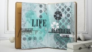 Download Life is a Beautiful Thing Art Journal Video