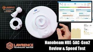 Download Nanobeam NBE‑5AC‑Gen2 Review & Speed Test Video