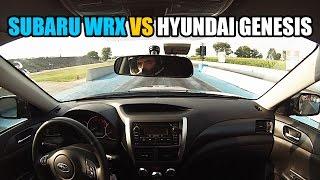 Download Subaru WRX vs Hyundai Genesis 3.8 Video