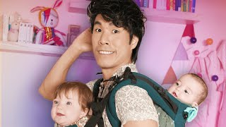 Download Eugene Babysits Twins For A Day Video