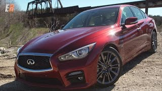 Download 2016 Infiniti Q50 Red Sport 400 Road & Track Review Video