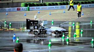 Download WORLD RECORD - Formula Student Team Delft Wet Skid Pad 5.07 seconds! Video