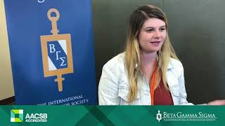 Download Beta Gamma Sigma - International Education Experience with Marissa Meyer Video