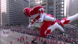 Download Macy's Thanksgiving Day Parade 2015 - MMPR Red Balloon (CBS) [1080p] Video