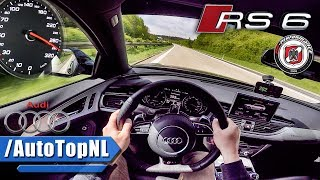 Download 750HP Audi RS6 Avant AUTOBAHN POV PP Performance by AutoTopNL Video
