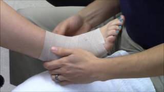 Download Figure Eight Ankle Wrapping Video