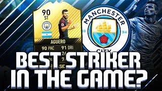 Download THE BEST STRIKER IN THE GAME? IF AGUERO 90!! FIFA 17 ULTIMATE TEAM Video