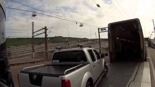 Download Taking a caravan through the Channel Tunnel with Eurotunnel Video