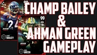Download BOSS 99 OVERALL CHAMP BAILEY AND AHMAN GREEN GAMEPLAY AND REVIEW!!! - MUT 17 Video