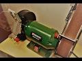 Download Szlifierka stołowa Parkside PSBS 240 B2 - Bench Grinder with Belt Sander Video