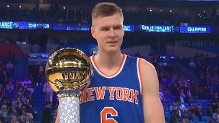 Download NBA All-Star Skills Challenge 2017! Kristaps Porzingis Demi God Cheese! Video
