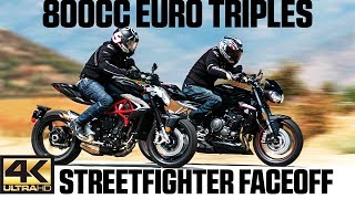 Download 800cc Euro Triples Streetfighter Faceoff | 4K Video