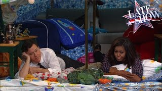 Download The Late Show Blanket Fort (with First Lady Michelle Obama) Video