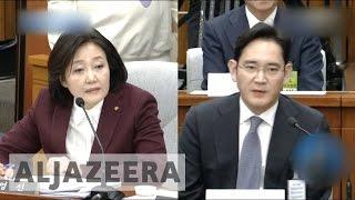 Download South Korea: Business elite grilled over Park scandal Video