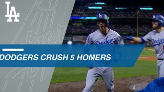 Download Dodgers crush 5 home runs in comeback win Video