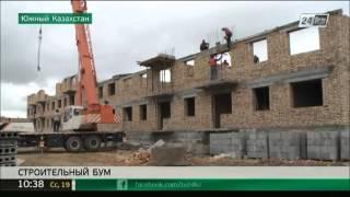 Download Строительный бум начался в Туркестане Video