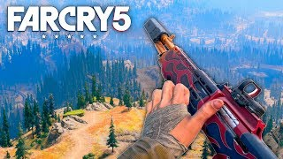 Download Far Cry 5 - FIRE BREATHING SHOTGUN (Far Cry 5 Free Roam) #22 Video