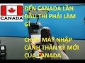 Download Du học Canada | Những bước cần làm khi lần đầu đặt chân đến đất nước Canada | Vlog #1 Video