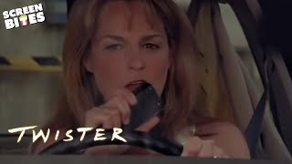 Download Twister: Jo (Helen Hunt) and Bill (Bill Paxton) take a detour tornado hunting Video