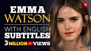 Download {SPEECH} EMMA WATSONS - GENDER EQUALITY | with BIG SUBTITLES Video