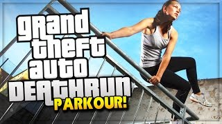 Download GTA 5 Online PARKOUR DEATHRUN | GTA 5 Snipers Vs Runners (GTA 5 Funny Moments) Video