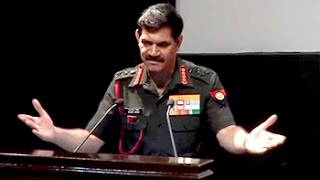 Download Don't clap, you are in uniform: Army chief to officers Video