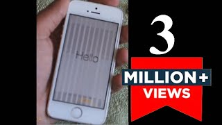 Download How to Fix Vertical Lines on iPhone 5S | Unresponsive Screen 5S | White & Black Lines Video