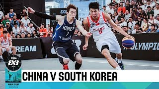 Download China v South Korea - Full Game - FIBA 3x3 Asia Cup 2018 Video