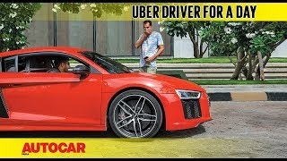 Download Uber driver for a day in an Audi R8 | Feature | Autocar India Video
