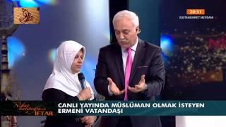 Download Canlı yayında müslüman olmak isteyen ermeni vatandaşı Video