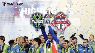 Download Highlights: Seattle Sounders FC at Toronto FC | MLS Cup Final | December 10, 2016 Video