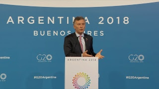 Download Press Conference of Mauricio Macri, President of Argentina Video