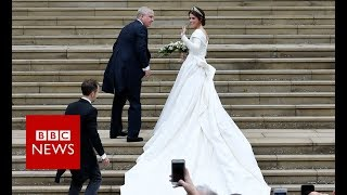 Download Royal wedding: Here comes the bride... - BBC News Video