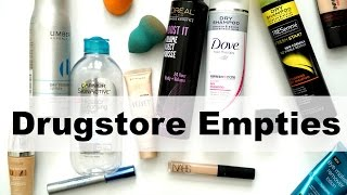 Download HUGE Drugstore Empties Rapid Review Video