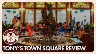 Download Tony's Town Square Review | Disney Dining Show | 06/01/18 Video