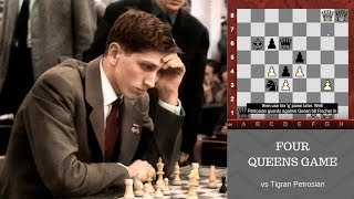 Download Bobby Fischer's amazing Four Queens Chess Game against ″Iron Tiger″ Tigran Petrosian! 1959 Video